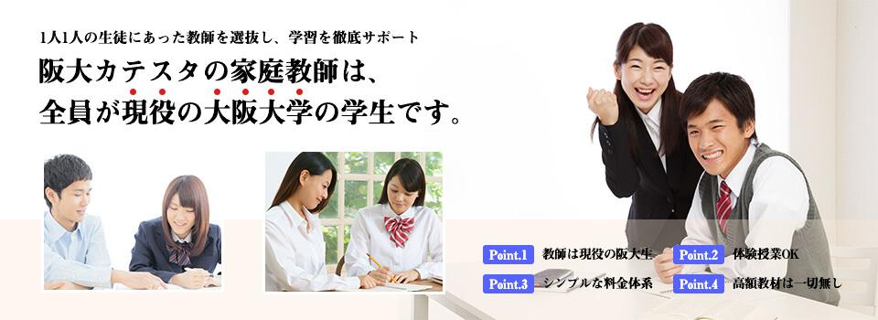 全国、いつでも、どこでもネット環境さえあれば大阪大学の学生・院生が指導します。